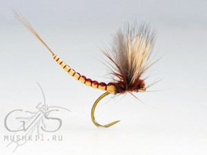 Mayfly Hair CDC wing extended body D-41