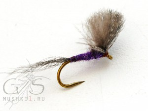 Mayfly CDC wing (Purple) D-28