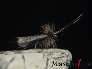 Caddis realistic wing (Black) D-375