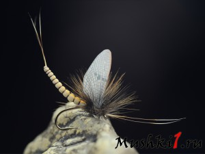 Mayfly realistic wing extended body (Tan) D-370