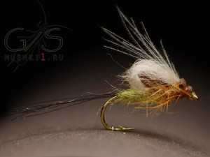 Mayfly fiber wing emerger D-11