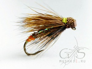 Deer hair stone fly D-58