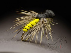 Wasp fly deer hair D-57