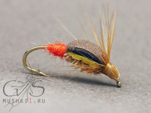 Beetle foam trout red tag D-115