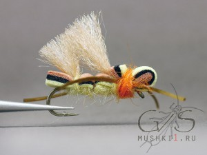 Fiber wing hopper (Cream) D-127