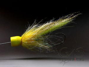 Popper tube yellow head S-33