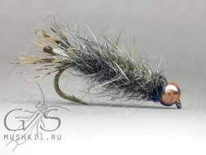 Cased caddis rabbit body N-108