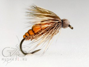 Deer hair fly (Yellow) D-49