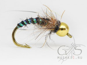 Caddis Larva (Black) N-114