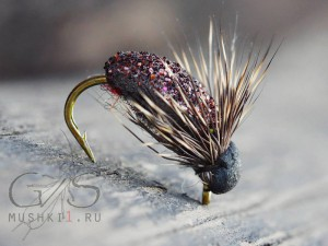 Beetle crystal (Brown) D-149