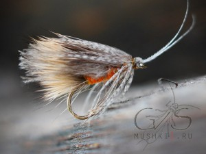 Caddis Hair CDC (Gray) D-143