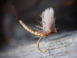 Mayfly fiber CDC wing extended body D-23