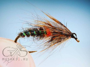 Wet fly (Black) W-54