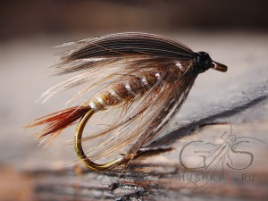 Wet fly classic (Brown) W-50