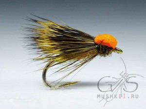 Balloon caddis (Orange) D-42
