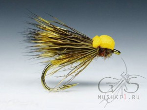 Balloon caddis (Yellow) D-43