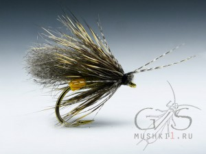 Fiber wing caddis (Gray) D-171