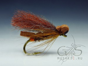 Foam caddis fiber wing (Brown) D-172