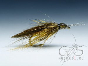 Hair caddis (Olive) D-176
