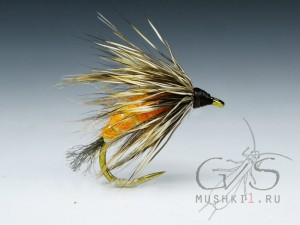 Hair caddis emerger (Orange) D-174