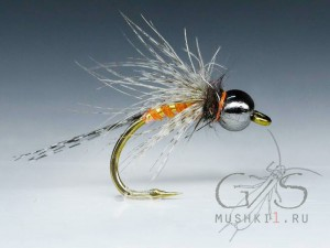CDC nymph (Orange) N-166