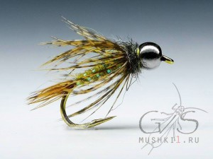 Mayfly nymph (Olive) N-9