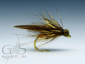 Mini caddis (Brown) D-106