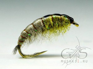 Rabbit Larva (Grey-Olive) N-83
