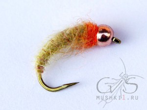 Rabbit Larva (Yellow-Orange) N-91