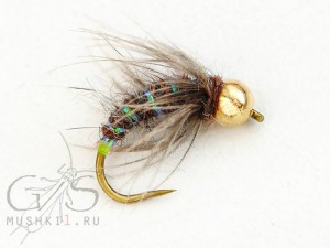 Rabbit caddis Green tag N-48