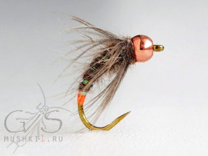 Rabbit caddis Orange tag N-40
