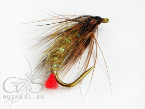 Wet fly red tag W-22